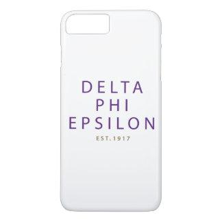 Delta Phi Epsilon Modern Type Case-Mate iPhone Case