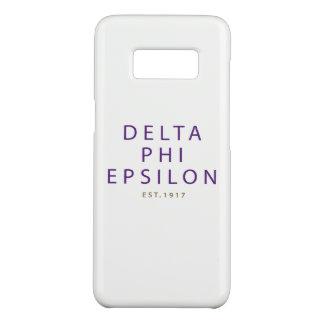 Delta Phi Epsilon Modern Type Case-Mate Samsung Galaxy S8 Case