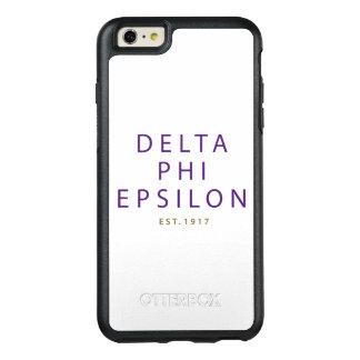 Delta Phi Epsilon Modern Type OtterBox iPhone 6/6s Plus Case