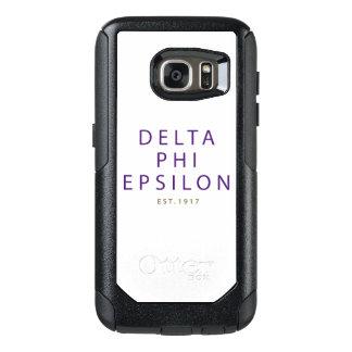 Delta Phi Epsilon Modern Type OtterBox Samsung Galaxy S7 Case