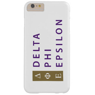 Delta Phi Epsilon Stacked Barely There iPhone 6 Plus Case