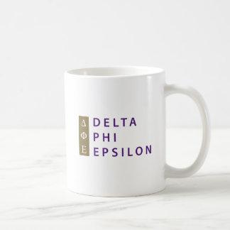 Delta Phi Epsilon Stacked Coffee Mug