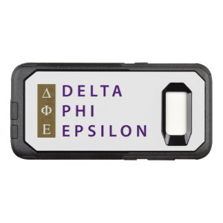 Delta Phi Epsilon Stacked OtterBox Commuter Samsung Galaxy S8 Case