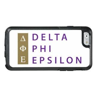 Delta Phi Epsilon Stacked OtterBox iPhone 6/6s Case