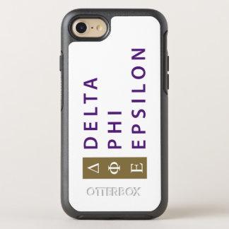 Delta Phi Epsilon Stacked OtterBox Symmetry iPhone 8/7 Case