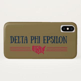 Delta Phi Epsilon USA Case-Mate iPhone Case