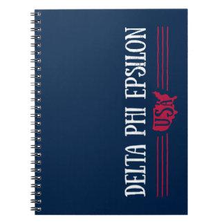 Delta Phi Epsilon USA Notebook