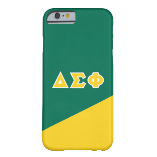 Delta Sigma Phi | Greek Letters Barely There iPhone 6 Case