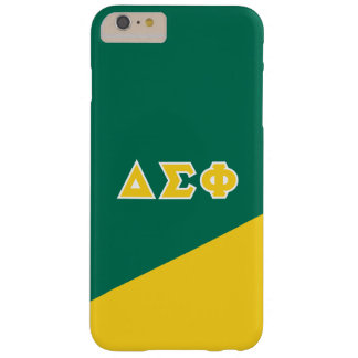 Delta Sigma Phi | Greek Letters Barely There iPhone 6 Plus Case