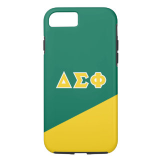 Delta Sigma Phi | Greek Letters iPhone 8/7 Case