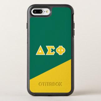 Delta Sigma Phi | Greek Letters OtterBox Symmetry iPhone 8 Plus/7 Plus Case