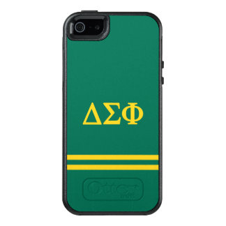 Delta Sigma Phi | Sport Stripe OtterBox iPhone 5/5s/SE Case