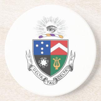 Delta Tau Delta Coat of Arms Coasters