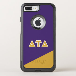 Delta Tau Delta | Greek Letters OtterBox Commuter iPhone 8 Plus/7 Plus Case