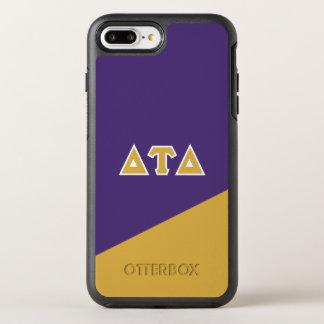 Delta Tau Delta | Greek Letters OtterBox Symmetry iPhone 8 Plus/7 Plus Case