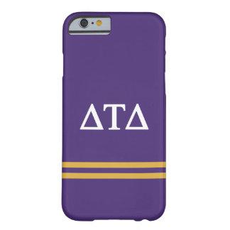 Delta Tau Delta   Sport Stripe Barely There iPhone 6 Case