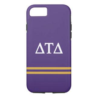 Delta Tau Delta | Sport Stripe iPhone 8/7 Case