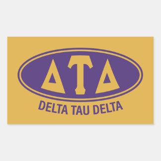 Delta Tau Delta   Vintage Sticker