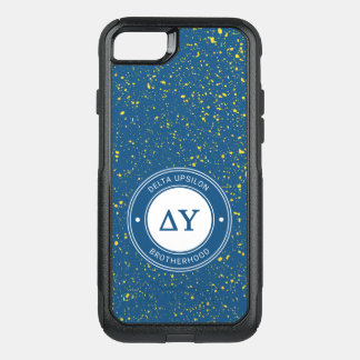 Delta Upsilon | Badge OtterBox Commuter iPhone 8/7 Case