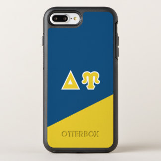 Delta Upsilon | Greek Letters OtterBox Symmetry iPhone 8 Plus/7 Plus Case