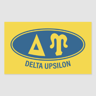 Delta Upsilon   Vintage Sticker