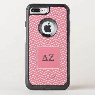 Delta Zeta | Chevron Pattern OtterBox Commuter iPhone 8 Plus/7 Plus Case