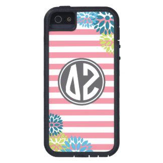 Delta Zeta | Monogram Stripe Pattern iPhone 5 Cover