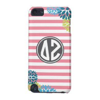 Delta Zeta | Monogram Stripe Pattern iPod Touch 5G Cases