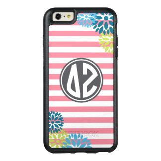 Delta Zeta | Monogram Stripe Pattern OtterBox iPhone 6/6s Plus Case