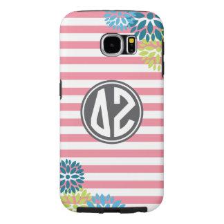 Delta Zeta | Monogram Stripe Pattern Samsung Galaxy S6 Cases