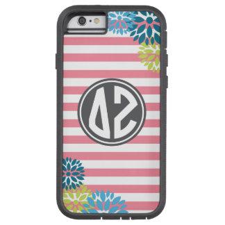 Delta Zeta | Monogram Stripe Pattern Tough Xtreme iPhone 6 Case