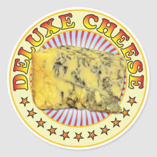 Deluxe Cheese v2 Classic Round Sticker