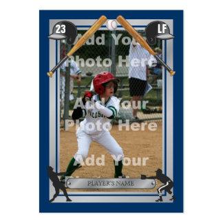 Deluxe Custom Baseball Card Business Cards