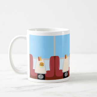 Deluxe Diner Time Coffee Mug