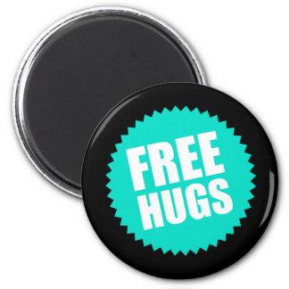 Deluxe Free Hugs Magnet
