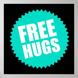 Deluxe Free Hugs Poster