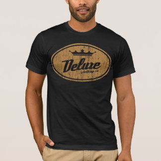 Deluxe Oval Logo (vintage gold) T-Shirt