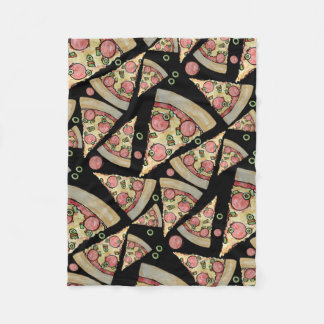 Deluxe Pizza Party Fleece Blanket
