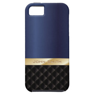 Deluxe Royal Blue w/ Custom Name iPhone 5 Case