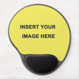 Deluxephotos Insert Your Own Image Gel Mouse Pad