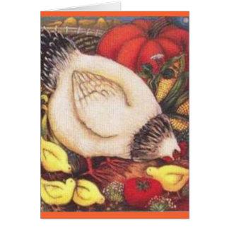 delware chicken card