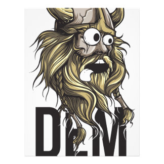 Dem buttocks beard animal custom letterhead