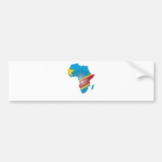 Dem. Rep. Congo Bumper Sticker