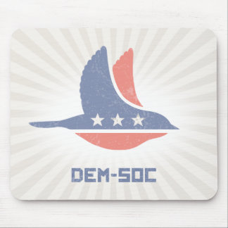 DEM-SOC MOUSE PAD