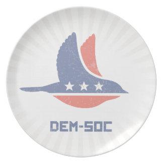 DEM-SOC PLATE