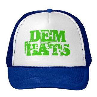 DEM Trashed Trucker Hat