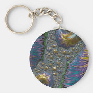 Demagogic Altarpiece of Childhood Fractal Keychain