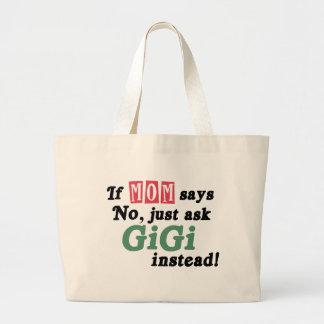 Demandez juste GiGi Sacs En Toile