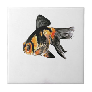 Demekin Goldfish Isolated Ceramic Tiles