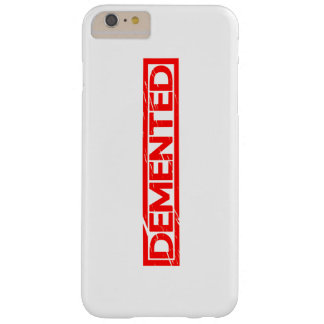 Demented Stamp Barely There iPhone 6 Plus Case